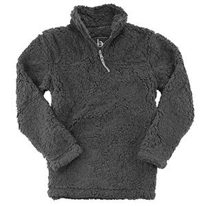 Boxercraft Unisex Sherpa Quarter-Zip Pullover